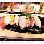 魚がし日本一 立喰寿司 渋谷道玄坂店 値段より上質と評判!